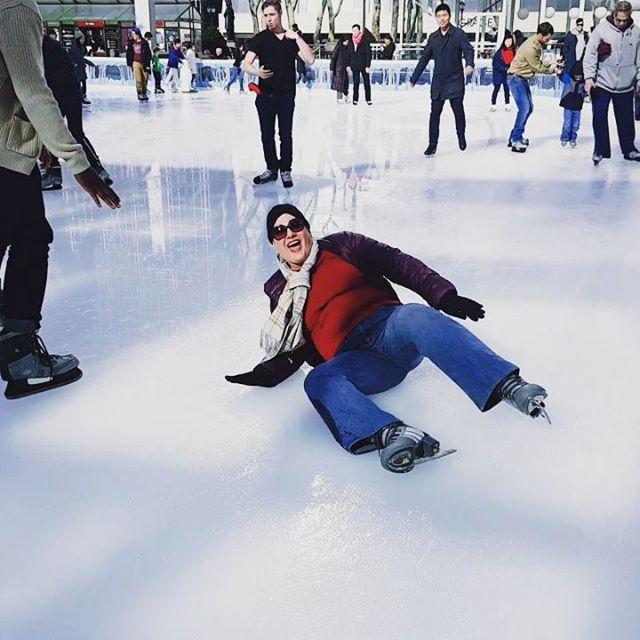 SPLAT ! #iceskatingfail #funny #ouch #iceskating  #haha