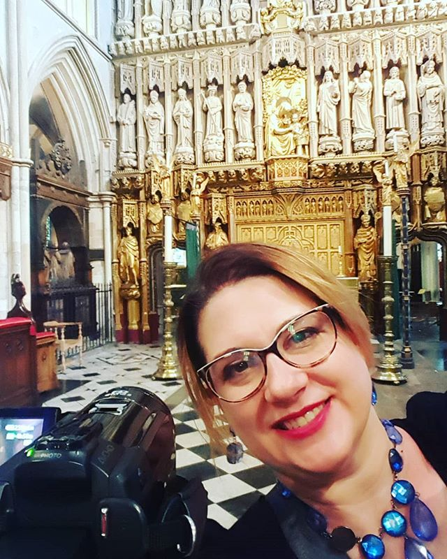 Shoiting Some Interviews in A Stunning Venue #southwark #corporatevideographer #london #england #sfpengland2018