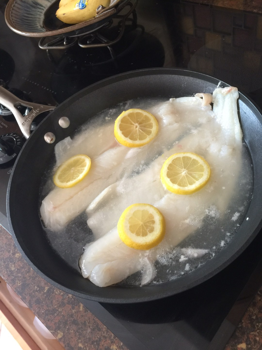 Poached Cod Healthy Meal