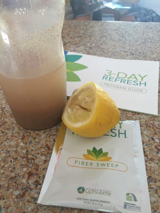 3 Day Refresh Detox Fiber Lemon