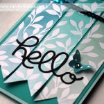 Stampin Up Sale-a-bration free paper