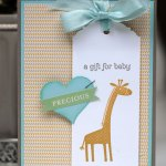 Sketch challenge using Zoo Babies from Stampin' Up!