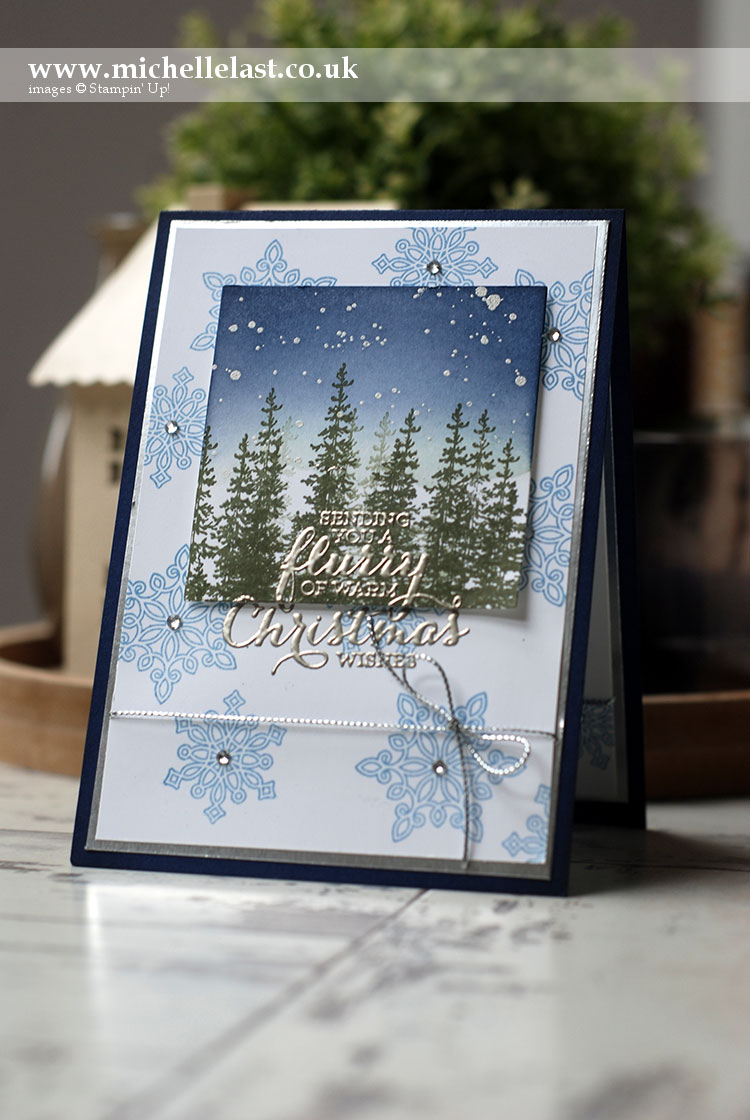 Flurry Of Wishes From Stampin Up With Michelle Last