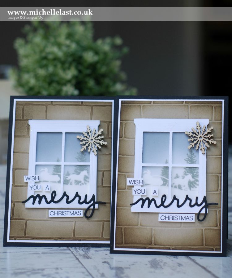 Christmas Cards Using Hearth Amp Home From Stampin Up