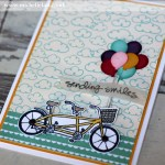 Beautiful Ride free during saleabration from Stampin Up