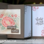 Birthday Blooms Fancy Fold Card
