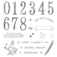 number of years from Stampin Up