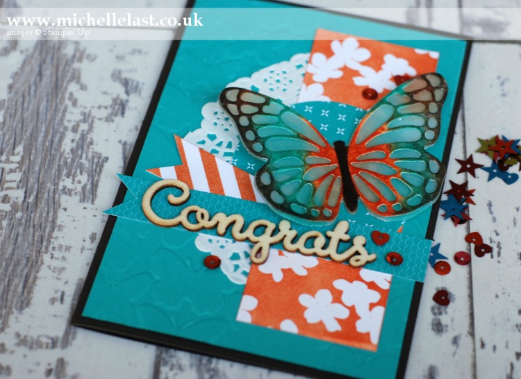 #GDP029 Butterfly Thinlit Dies from Stampin Up
