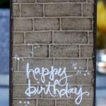 Graffiti Card made using Watercolour Words