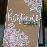 Birthday Blooms from Stampin Up by Michelle Last