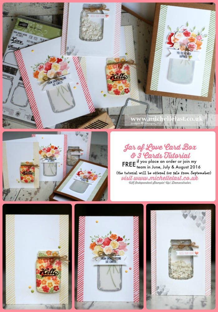 Jar of Love Free Tutorial from Michelle Last