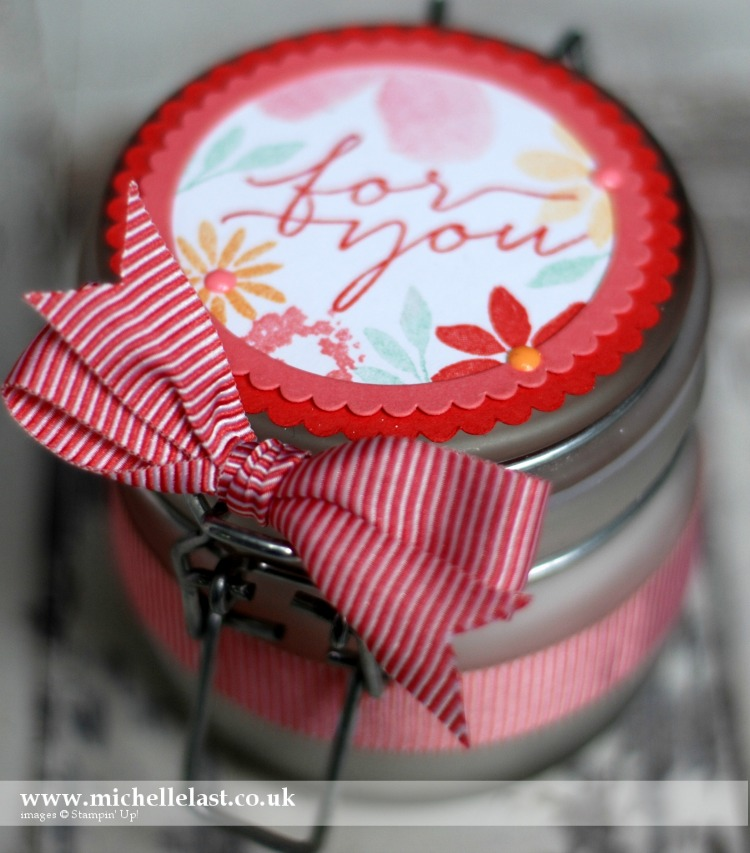 Blooms & Wishes Candle Jar