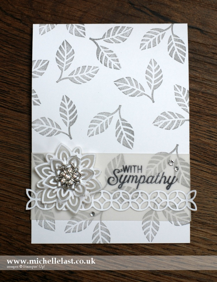 Flourish Thinlits from Stampin Up
