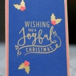 Christmas Card using Stampin up supplies