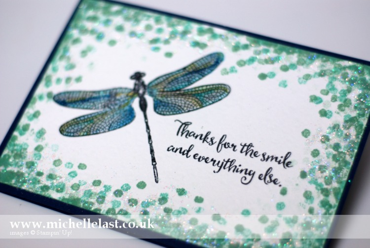 Dragonfly Dreams Sparkly Stampin Up
