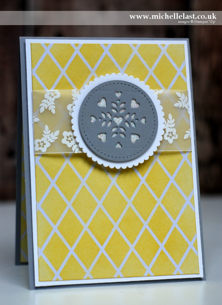 #GDP072 Window Shopping Thinlits from Stampin Up