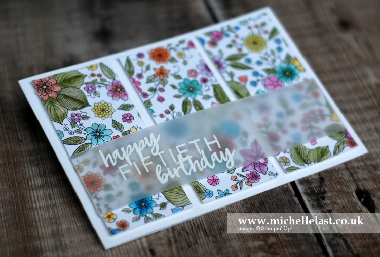 Inside the Lines from Stampin Up