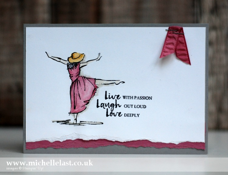 Beautiful You from Stampin Up