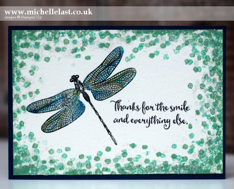 Dragonfly Dreams from Stampin Up by Michelle Last