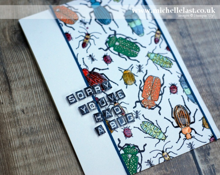 #GDP076 Beetles & Bugs from Stampin Up