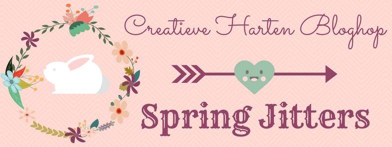 Creative Hearts Blog Hop Spring Jitters