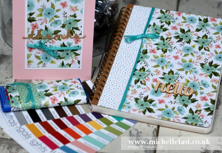 New demonstrator welcome pack from Michelle Last