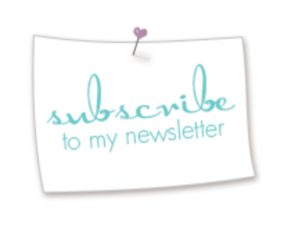 Newsletter sign up with Michelle Last