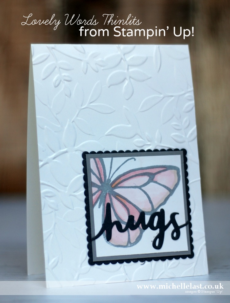 Butterfly Card using Stampin Up