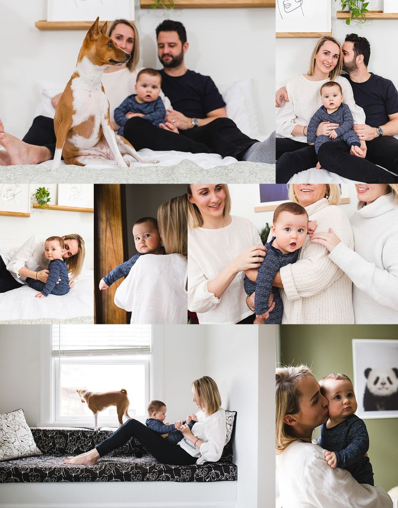Family Photoshoot with a Montreal Lifestyle Photographer