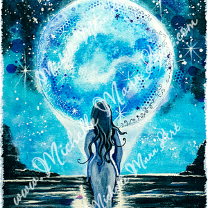 Moon Goddess by Michelle Mann copyright Michelle Mann 2017 all rights reserved