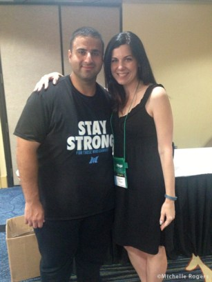 Excited to meet the inspirational Alan Ali of SweatingUntilHappy.com, a fellow North Carolinian.