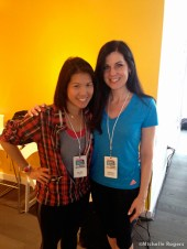With Betty Wong, editor-in-chief of Fitness