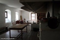 Large kitchen at the boarding house