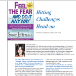"""Feel the Fear...And Do It Anyway"" - Reviewed by Michelle Sandlin"