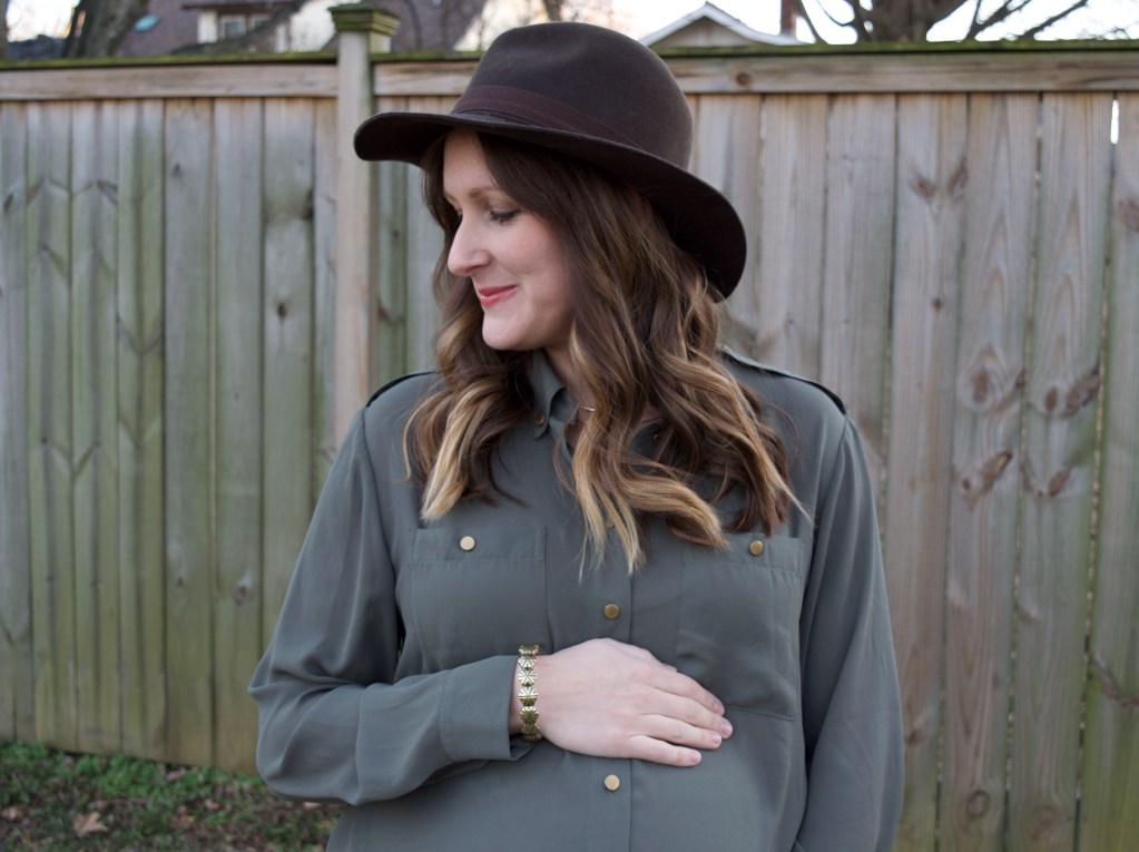 Maternity Style // A Blouse