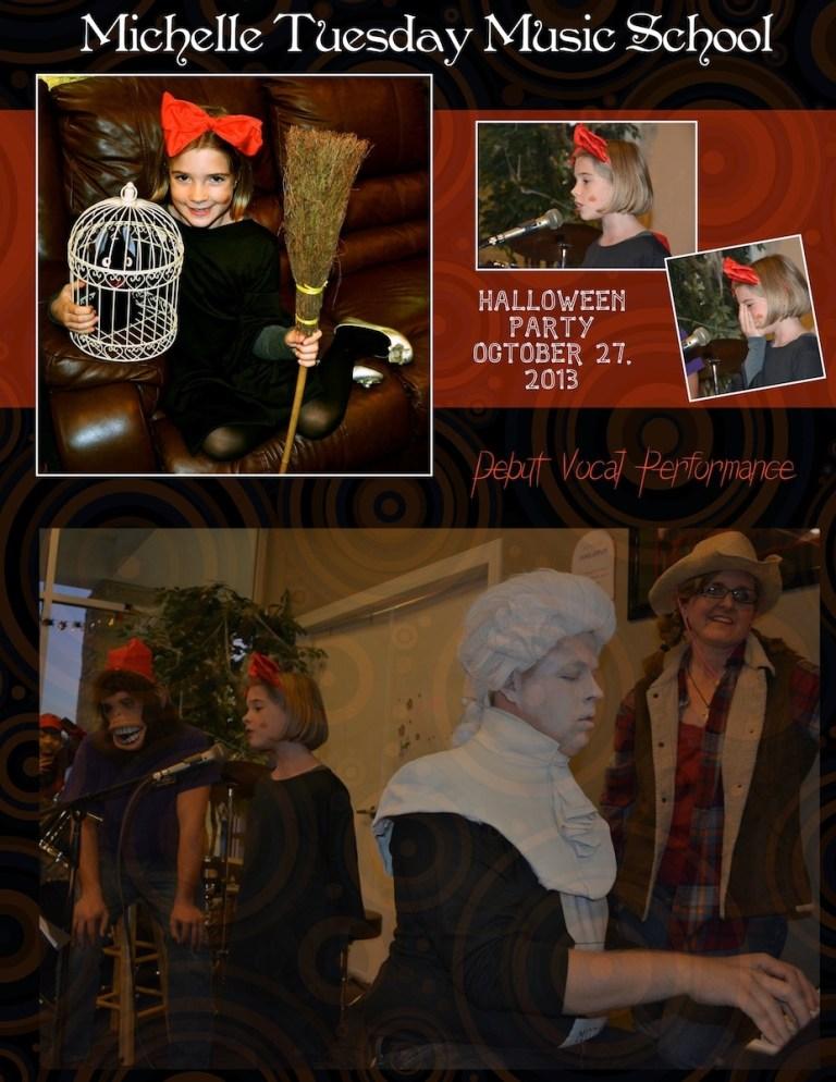 Halloween Recitals!