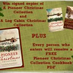 A Pioneer Christmas: a Cookbook Gift, a Raffle and the Stories!