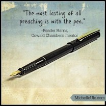 The Revivalist magazine, Oswald Chambers, Oswald Chambers' articles, God's Bible School, camp meetings, Holiness Movement
