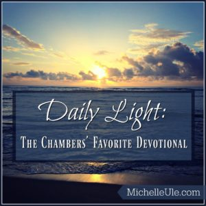 Lovely Daily Light On The Daily Path Was Biddy And Oswald Chambersu0027 Favorite  Devotional.
