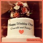 Happy Wedding Day, Oswald and Biddy!
