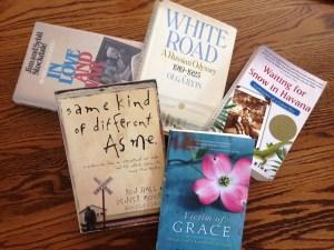 8 favorite memoirs, Waiting for Snow in Havana, Robin Gunn, Carolyn Weber, Girl Named Zippy, White Road, Madeleine L'Engle, Lynn Vincent, Carlos Eire