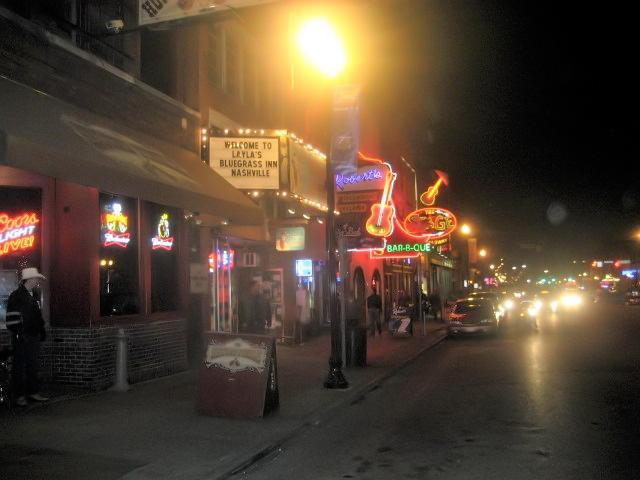 Nightlife in Nashville
