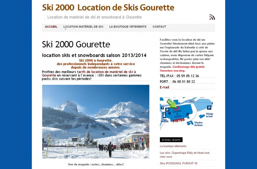 Ski 2000 Location De Matriel De Ski Gourette Michel