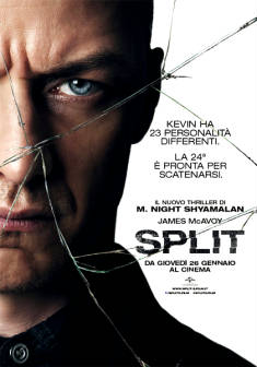 Split ( regia di M. Night Shyamalan )