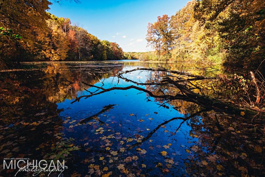 Wildwood Lake awash with Fall colors!
