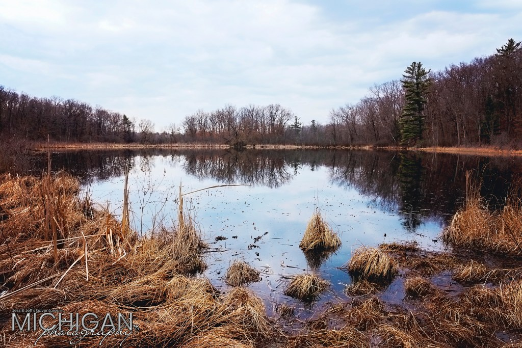 A small lake at Bald Mountain State Park.