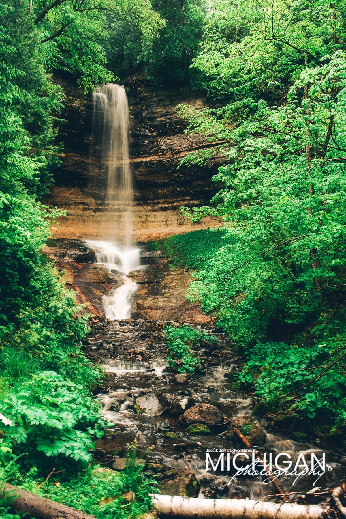 Munising Falls in Michigan's Upper Peninsula
