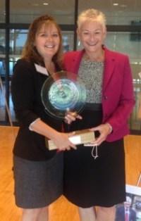 Mary & me Gov Award