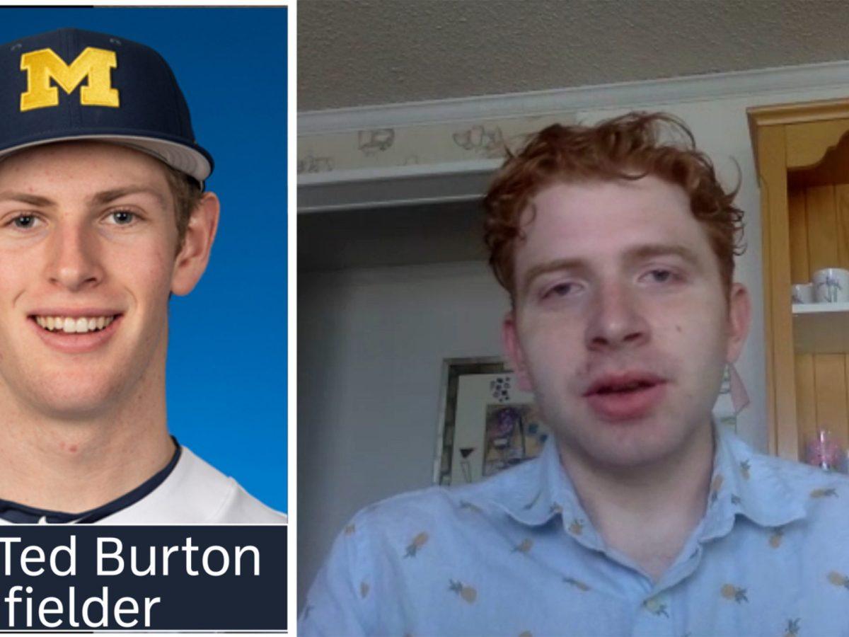 Ted Burton Winding Path to Starter on Michigan Baseball team
