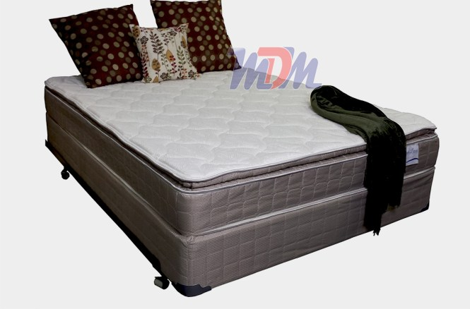 Corsicana Bedding Spring Pillow Top Mattress Fayington Medium